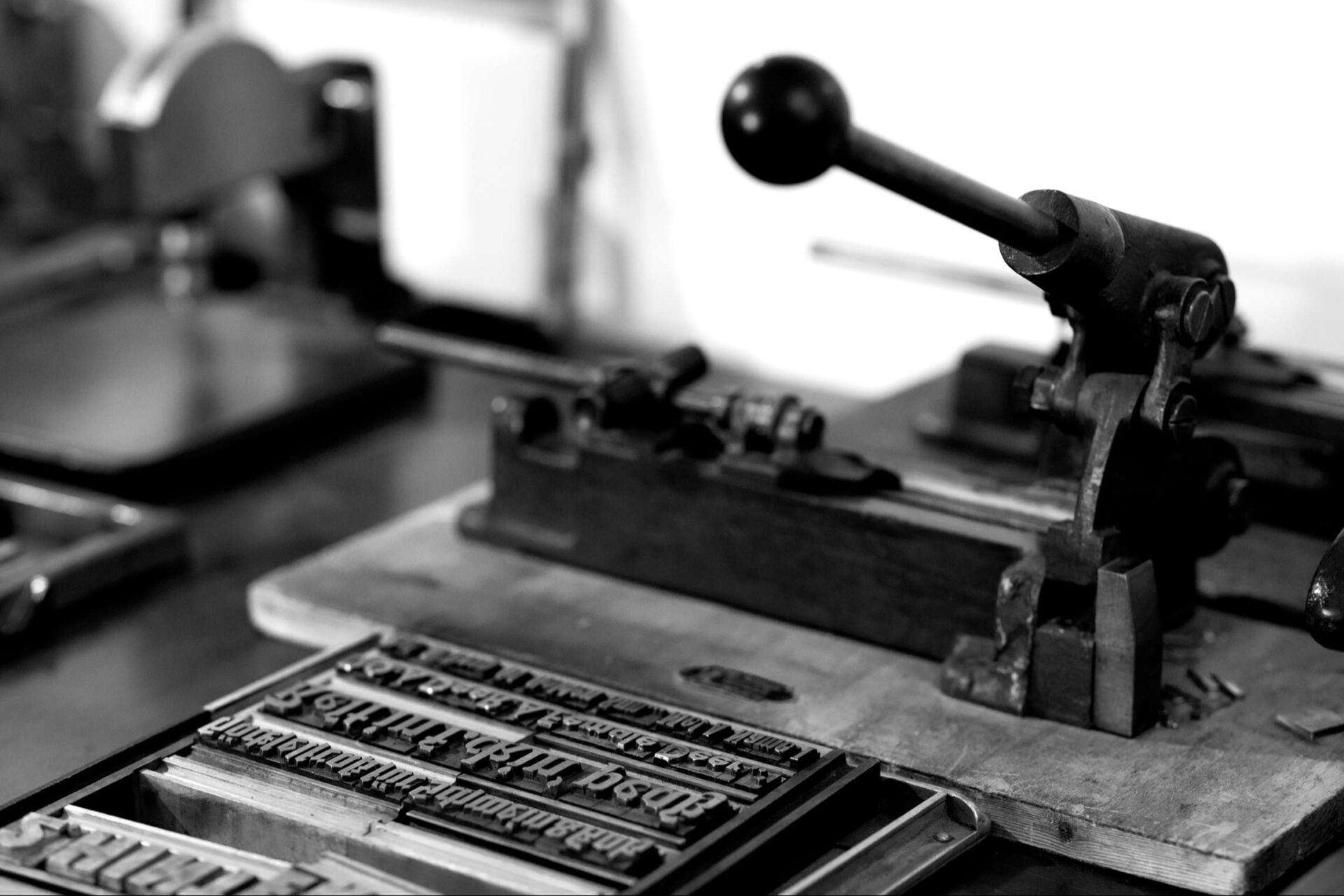 The mystery of analogue printing.